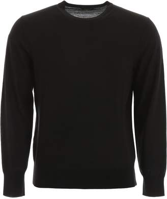 Shaved Knit Wool Pullover