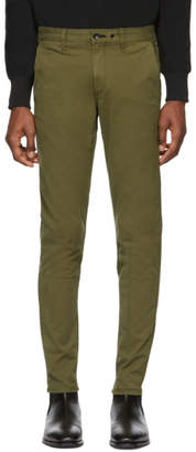 Rag & Bone Green Fit 1 Classic Chino Trousers
