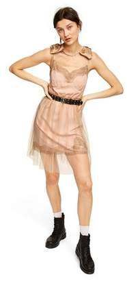 Rodarte for Target Women's Sleeveless Slip Mini Dress for Target Peach