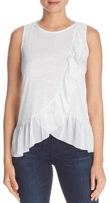 Design History Layered Ruffle Tank