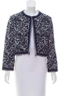 Prabal Gurung Floral Crepe Jacket