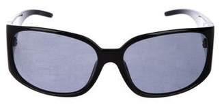 Dolce & Gabbana Shield Polarized Sunglasses