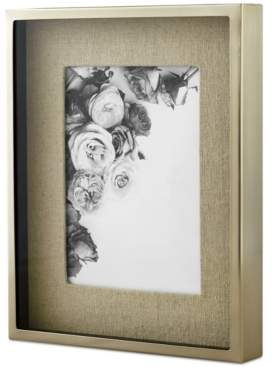 """Martha Stewart Closeout! Collection Shadowbox Linen 5"""" x 7"""" Frame, Created for Macy's"""