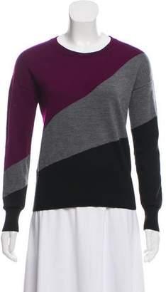 Paule Ka Merino Wool Colorblock Sweater