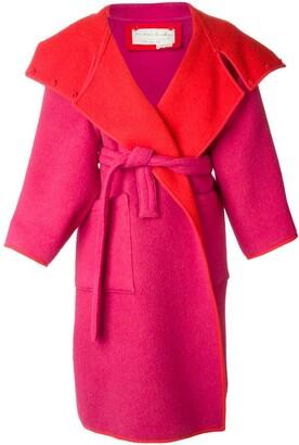 JC de CASTELBAJAC Pre-Owned reversible oversized coat