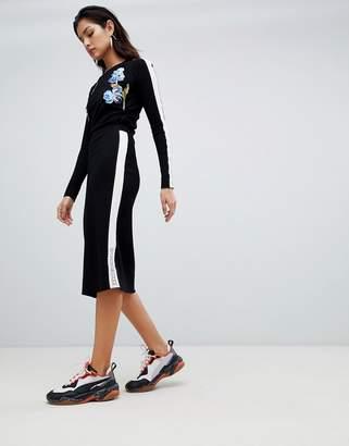 Sportmax CODE Code Knitted Midi Skirt