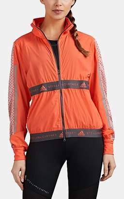 Stella McCartney adidas x Women's Mesh-Inset Colorblocked Running Jacket - Orange