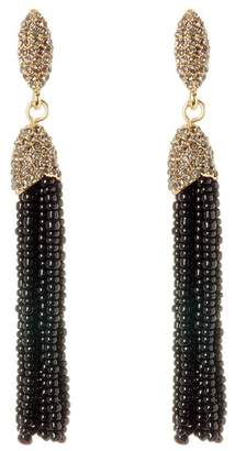 Vince Camuto Seed Bead Tassel Earrings
