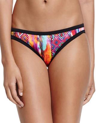 Seafolly Scuba Printed Hipster Swim Bikini Bottom, Mexican Summer