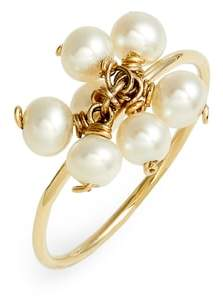 Poppy Finch Baby Pearl Cluster Ring