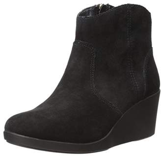 crocs Women's Leigh Suede Wedge Boot $21.95 thestylecure.com