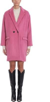 Isabel Marant Pink Wool Coat