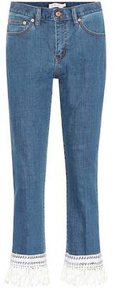 Tory Burch Connor cropped jeans
