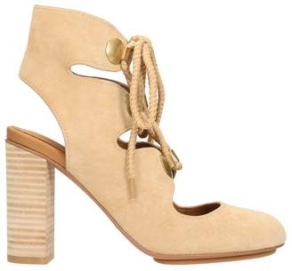 See by Chloe Lace-up Sandals