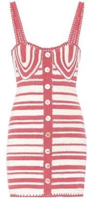 Daisy cotton crochet dress