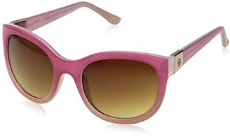 Jessica Simpson Women's J5269 Round Sunglasses