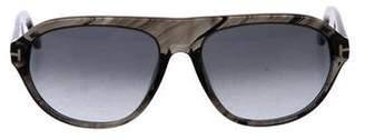 Tom Ford Ivan Gradient Sunglasses