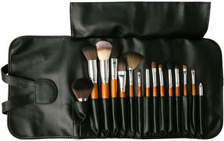 Vanity Planet Artist's Palette 15-Piece Professional Make-Up Brush Set With Travel Bag