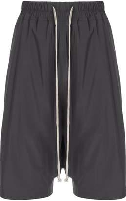 Rick Owens oversized track shorts