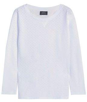 A.P.C. Perforated Cotton Top