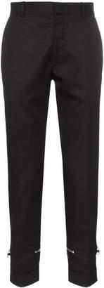 Alexander McQueen zipper-detail trousers