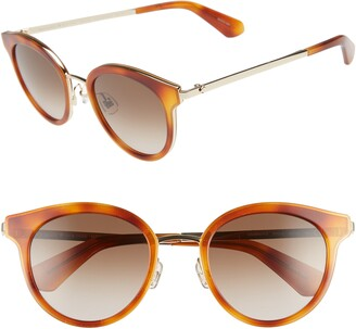 Kate Spade Lisanne 50mm Special Fit Round Sunglasses