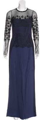 J. Mendel Embellished Evening Dress