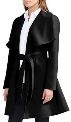 Lauren Ralph Lauren Drapey Wrap Coat