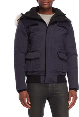 Ookpik Real Fur Trim Hooded Down Jacket