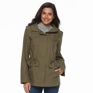 Details Women's Hooded Cotton Anorak Jacket