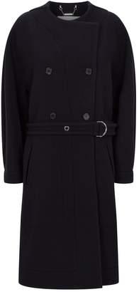 Chloé Collarless Oversized Coat