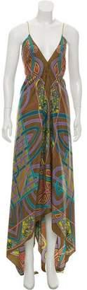 Nicole Miller High-Low Maxi Dress