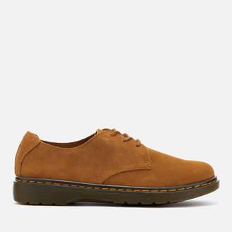 Dr. Martens Men's Elsfield Bronx Suede Lace Shoes - Chestnut