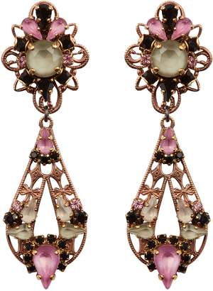 Erickson Beamon Multi-Drop Earrings