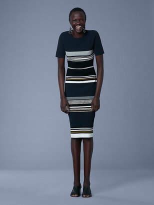 Diane von Furstenberg Soft Shoulder Sweater Dress