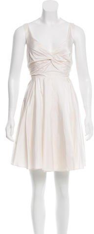 Alice + OliviaAlice + Olivia Gathered Silk Dress w/ Tags