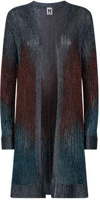 M Missoni Knitted Long Cardigan
