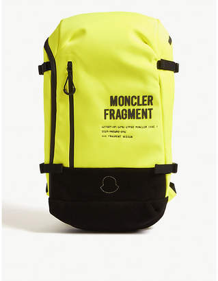 GENIUS X Fragment fluorescent nylon backpack