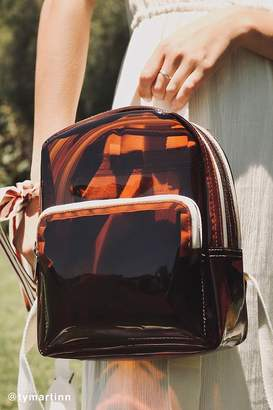 Urban Outfitters Clear Mini Backpack