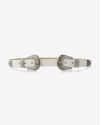Express double buckle western belt $39.90 thestylecure.com
