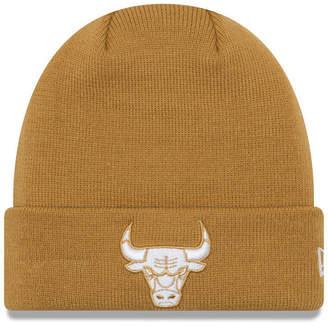 New Era Chicago Bulls Fall Time Cuff Knit Hat
