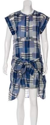 Ulla Johnson Plaid Knee-Length Dress
