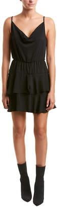 BCBGeneration Tiered Ruffle Mini Dress