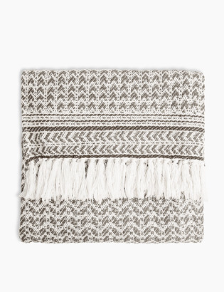 Marks and Spencer Aubrey Patterned Throw
