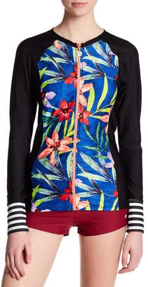 NEXT Tropic Fusion Long Sleeve Surf Shirt $78 thestylecure.com