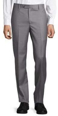 Saks Fifth Avenue Slim Fit Wool Trousers