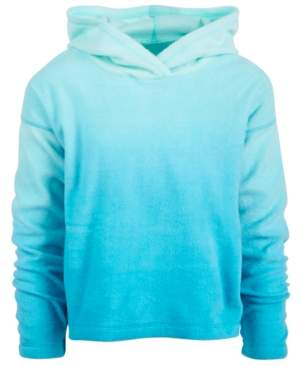 Ideology Little Girls Ombre Fleece Hoodie, Created for Macy's