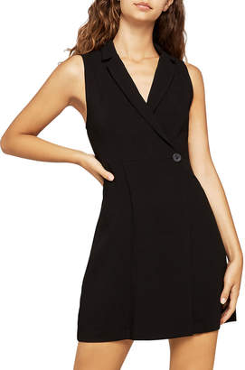 BCBGeneration Sleeveless Button Blazer Dress