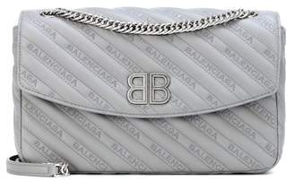 Balenciaga Chain Round M leather shoulder bag