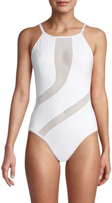 La Blanca Triple Threat Cutout One-Piece Swimsuit